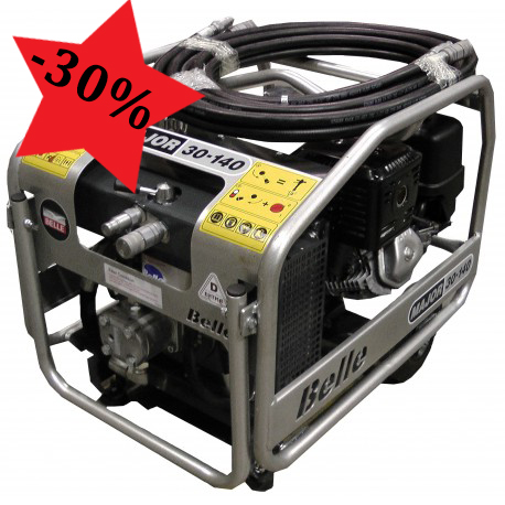 belle midi 20 140 hydraulic power pack
